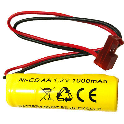 1.2v 1000MAH Lithonia Battery ELB1P201N ELB1210N NiCd Emergency Light Exit Sign