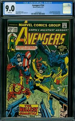 Avengers 144 CGC 9.0 - White Pages
