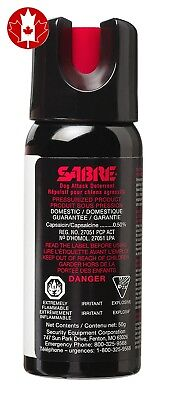 SABRE Dog Spray - Maximum Strength - Professional Size (50g)