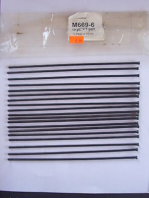 19 Piece Replacement Needles For Air Hammer Needle Scaler Wilmar M669-6