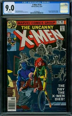 X-Men 114 CGC 9.0 - White Pages