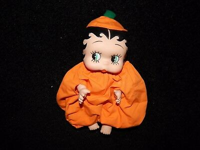 Antique Vintage Halloween Betty Boop Doll - 1991 Presents