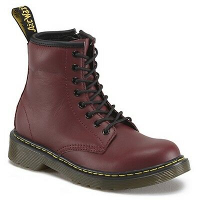 Dr. Martens 10072600 1460 cherry red smoooth anfibio rosso ciliegia