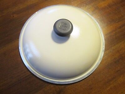 """Club Cookware 10"""" Replacement Lid Almond Color"""