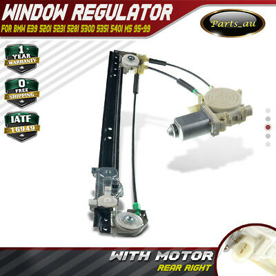 New Electric Window Regulator With Motor for BMW 5 Series E39 95-99 Rear Right