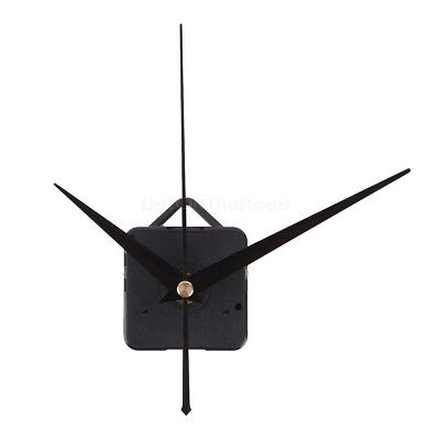 Wall Clock Mechanism Silent Quartz Movement Parts Repair Kit with spindle Hands