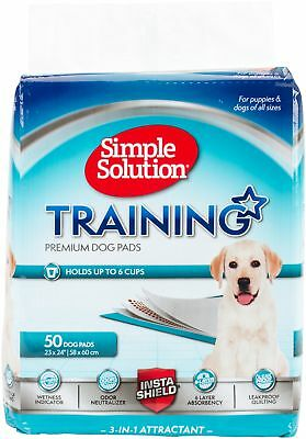 """Simple Solutions Training Pads 50 Pack 23""""X24"""" 13401"""