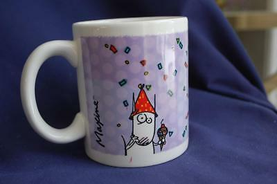 """Maxine Coffee Mug Hallmark You Know What They Say About Being in Your 50s """"Damn"""""""