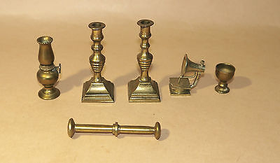 Vintage Doll House Brass Accessories House Solid Brass Decoratives