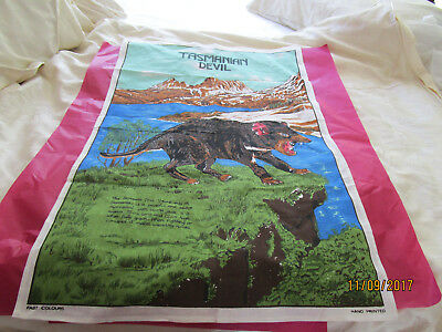 100 % Tea Towel- Tasmanian Devil