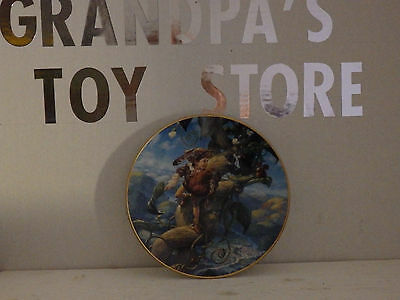 Knowles Classic Fairy Tales. Jack & The Beanstalk Plate