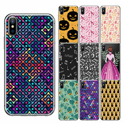Christmas Animal Pattern TPU Skin Soft Back Case Cover Fit iPhone 6 6s 7 Plus SE