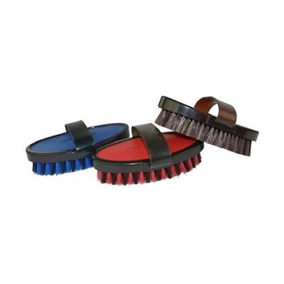 HIPPO-TONIC Brosse douce Luxe pour cheval - Rouge