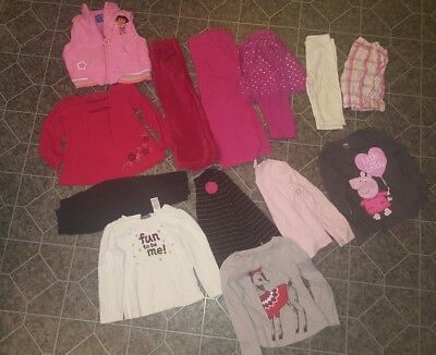 Lot of 2T 3T Toddler Girls Fall Winter Clothes old navy the childrens place etc