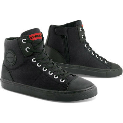 DRIRIDER URBAN Black Road Bike Motorcycle Casual Shoes Boots ALL SIZES