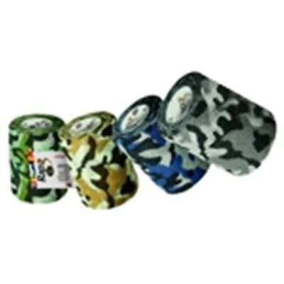 """Vet Supply Rapz Easy Tear Camo Variety Pack 2"""" x5.5yd 12Ct Dog Cat Wound Wrap"""