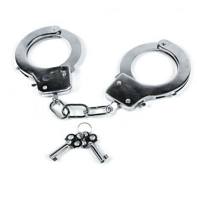Kids Toy Metal Handcuffs with Keys Kids Police cosplay Toy Just for Fun