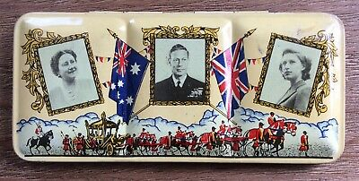 Royal Visit Australia 1952 - Students Water Colour Tin Set - VGC Never Used