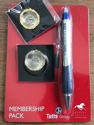 2008 & 2011 Cox Plate Pin - as New Free Post