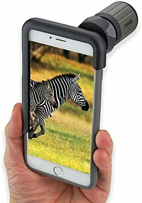 Carson HookUpz iPhone 6 Plus Digiscoping Adapter with 7x18mm Close Focus...