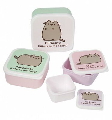 Official Set Of Four Pusheen Snack Boxes