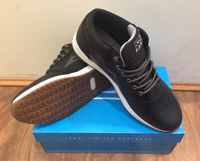 Lakai Griffin Mid WT Shoe Black
