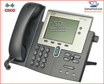 Cisco 7942 IP Phone (Cisco CP-7942) for CCNA CCNP CCIE Voice and Collaboration