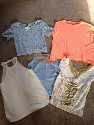 Bundle River Island Topshop H&M Tops Size 6/8
