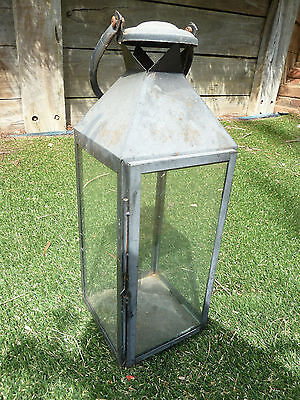 Outdoor glass latern, Item 91, Pick up Langwarrin