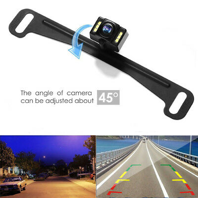 Auto-vox 170° Car Rear View Reverse Backup Camera License Plate LED Night Vision