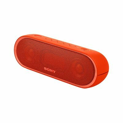 SONY SRSXB20R Portable Wireless Speaker with Bluetooth (Red) (Seconds)