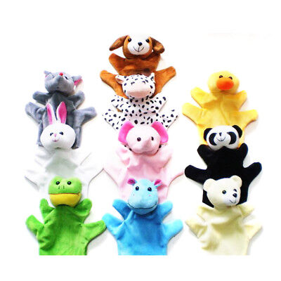 Tell a story Parenting Hand puppet  Appease Animal Plush Puzzle Cartoon Baby