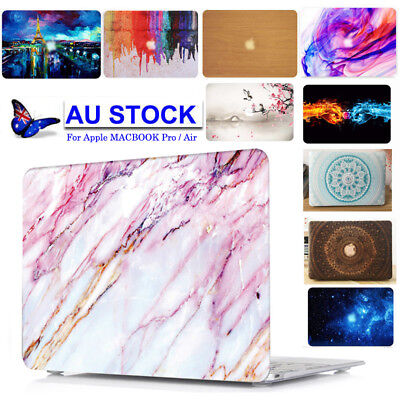 AU Hard Case KB Cover Macbook Pro Air 11 13 15 Touch Bar 2017 New A1706 / A1708