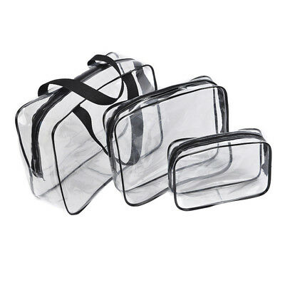 3Pcs Waterproof Travel Clothes Storage Bags Luggage Organizer Pouch Packing Cube