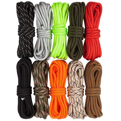 100ft 550 Paracord Parachute Cord Lanyard Mil Spec Type III 7 Strand Core