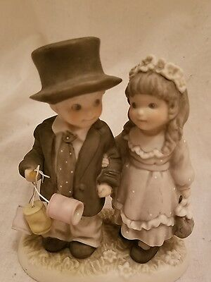 "1996 Enesco  ""ALWAYS AND FOREVER "" Newlywed Couple Figurine"