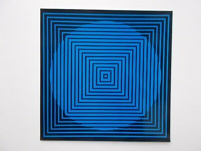 VICTOR VASARELY - Druckgrafik  in Hochglanz - 1971