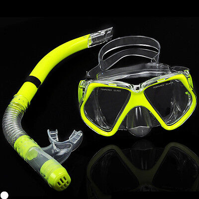 Mares Snorkel Set Combo - Wide View Silicone Mask and Purge Valve Snorkel HOT UK