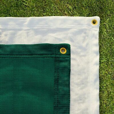 Archery Backstop Netting - Premium Quality (Green/White) (Choice of 5 Sizes)