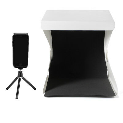 Mini Studio Light Room + Tripod + Phone/Tablet Holder + 2x EVA Backdrops LF799