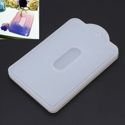 DIY Card Set Holder Case Silicone Mold Jewelry Making Resin Craft Handmade Tool