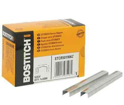 Bostitch Stcr5019 Series Galvanised Power Crown Staples - 5,000/box