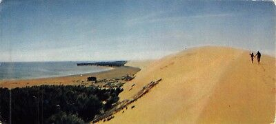 Postcard Lithuania Towards the Summit of the Sand Hill 160x73mm #D28
