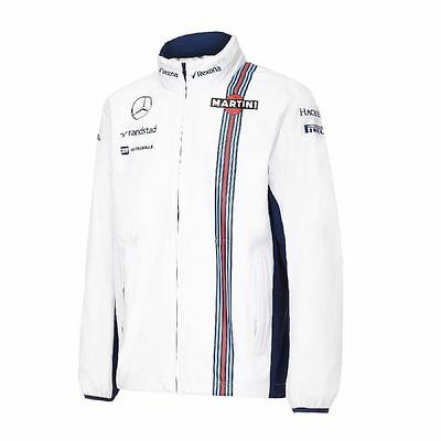 Williams Martini White Rain Jacket By Hackett 2016-F1 Gift-Rrp.£169.00