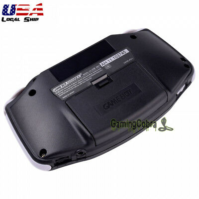 Black Battery Door Cover Shell Replacement Kit for Nintendo Game Boy Advance GBA