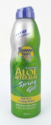 Banana Boat Aloe Vera After Sun Spray Gel 235g