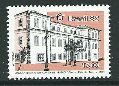 Brazil Sg1955 1982 National Historical Museum  Mnh
