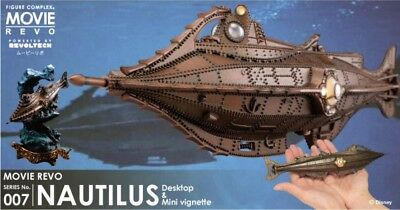 Kaiyodo Nautilus 20000 Leagues Under the Sea Movie Revo LEDLight w/ MiniVignette