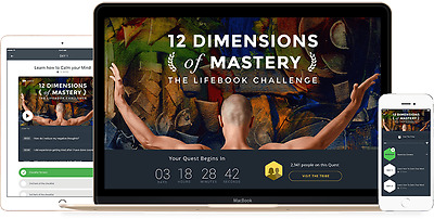 Mindvalley – 12 Dimensions Of Mastery (Lifebook Challenge)