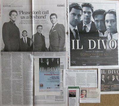 IL DIVO clippings / cuttings